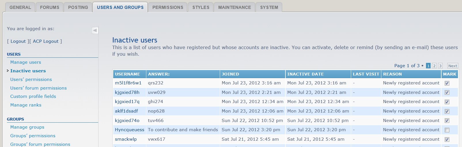 Add custom profile fields to 'inactive users' list.png